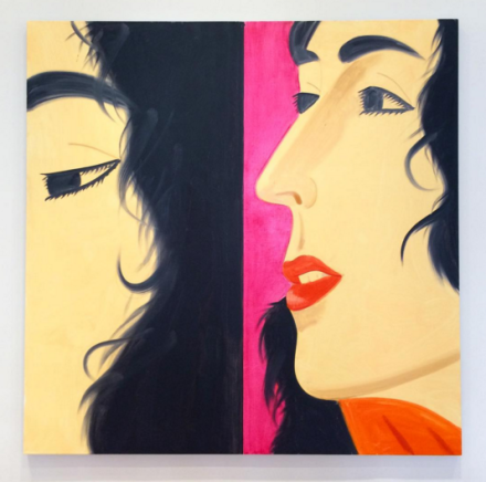 Alex Katz, Marisa (2016), via Art Observed