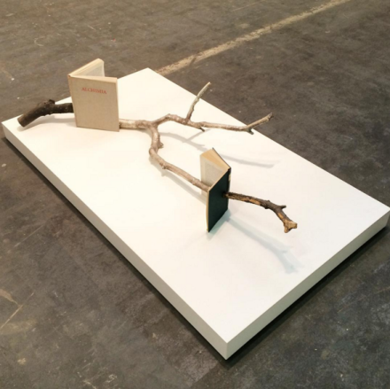 Alicja Kwade at i8, via Art Observed