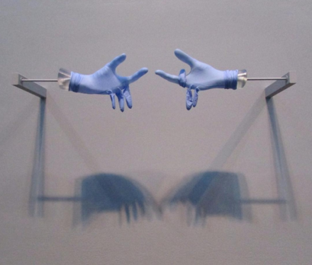 Anri Sala, Title Suspended (Sky Blue) (2008), via Art Observed