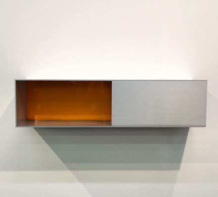 Donald Judd at David Zwirner, via Art Observed