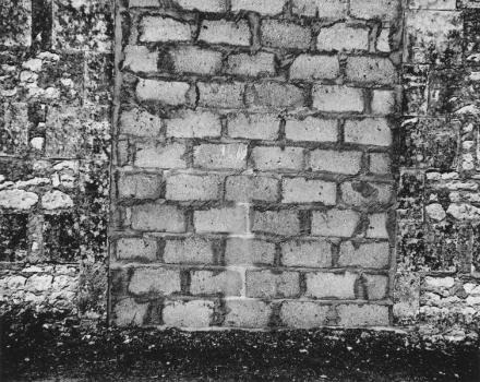 Ellsworth Kelly, Stonework, Meschers (1950), via Matthew Marks