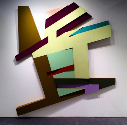 Frank Stella at Marianne Boesky, via Art Observed