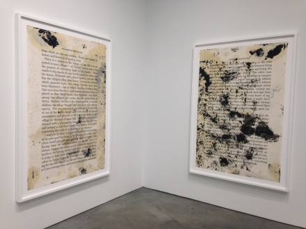 Glenn Ligon, What We Said The Last Time (Installation View), all images are by Osman Can Yerebakan for Art Observed.