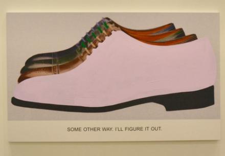 John Baldessari (Installation View), via Art Observed