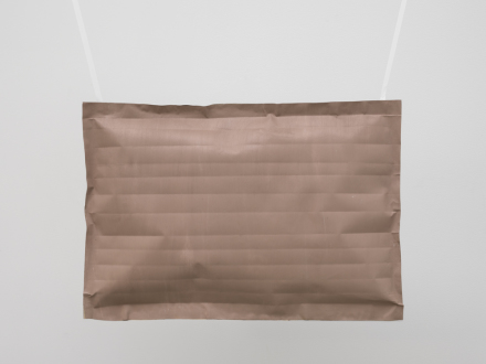 Karla Black, Includes Emphasis (2016), via David Zwirner