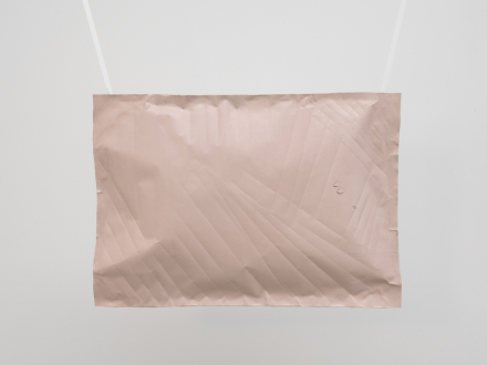 Karla Black, Includes What's Wanted (2016), via David Zwirner