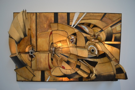 Lee Bontecou, Untitled 1966
