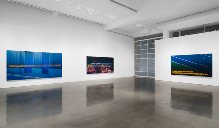 Alex Israel & Brett Easton Ellis (Installation View)