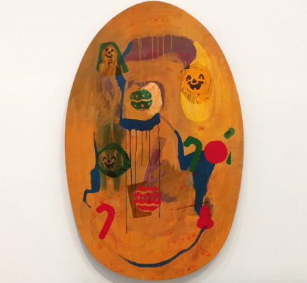 Mike Kelley, The Thirteen Seasons (Heavy on the Winter) #7 The Descent (1994), via Art Observed