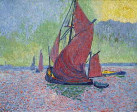 André Derain, Les Voiles Rouges (1906), via Sotheby's