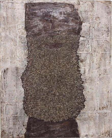 Jean Dubuffet, Barbe des rites (1959), via Phillips