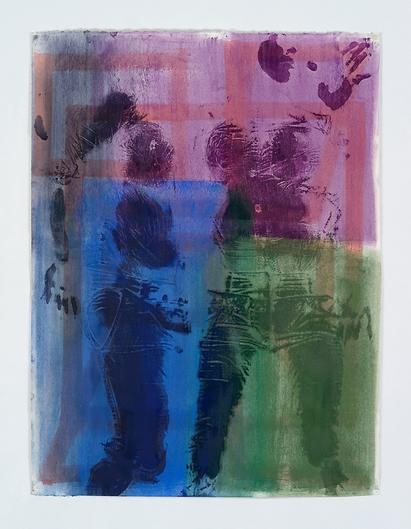 Keltie Ferris, Sidestep (2015), via Mitchell-Innes and Nash