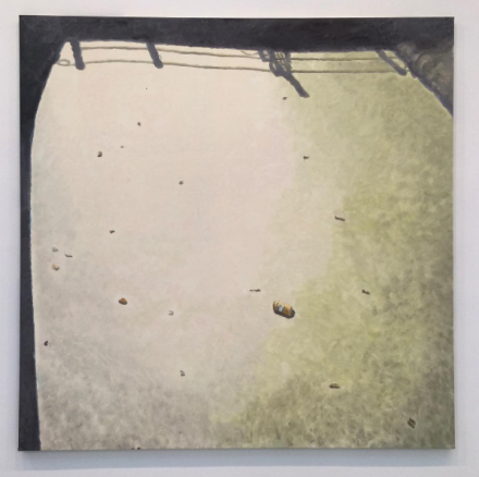 Luc Tuymans, Murky Water (2015), via Art Observed