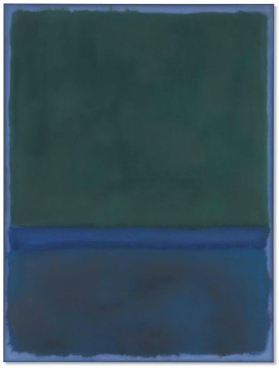 Mark Rothko, No. 17 (1957), via Christie's