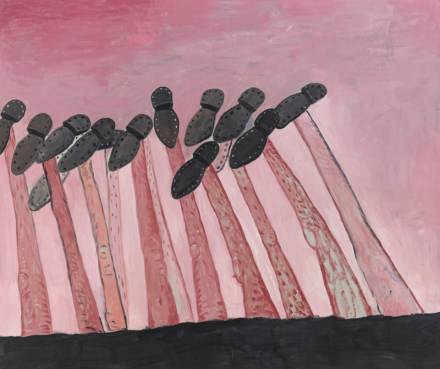 Philip Guston, Black Coast (1977)
