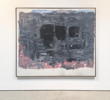 Philip Guston, Painter, 1957-1967 (Installation View), via Art Observed