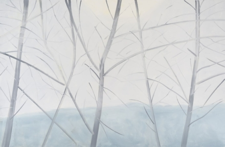 Alex Katz, Light Landscapes 2 (2016), via Thaddaeus Ropac