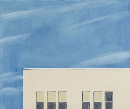 Alex Katz, North 1 (2015), via Thaddaeus Ropac