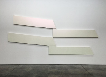 David Novros, 4:30 (1966), via Art Observed