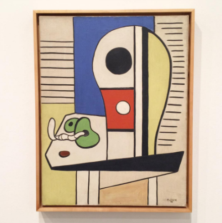 Fernand Léger, Nature Morte Aux Deux Fruits (1938), via Art Observed