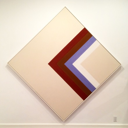 Kenneth Noland, Half Way (1964), via Quincy Childs for Art Observed