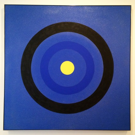 Kenneth Noland, Mysteries: Moonlit (2001), via Quincy Childs for Art Observed