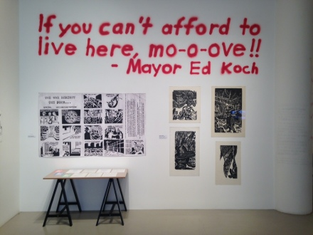 Martha Rosler, If You Can't Afford to Live Here, mo-o-ove!! (Installation View)