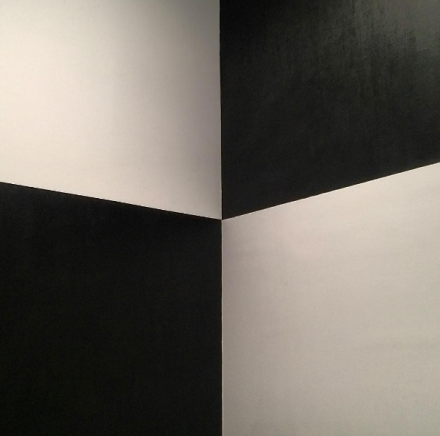 Richard Serra, Above Below Betwixt Between  (2015), via Art Observed