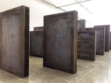 Richard Serra, Every Which Way (2015), via Art Observed