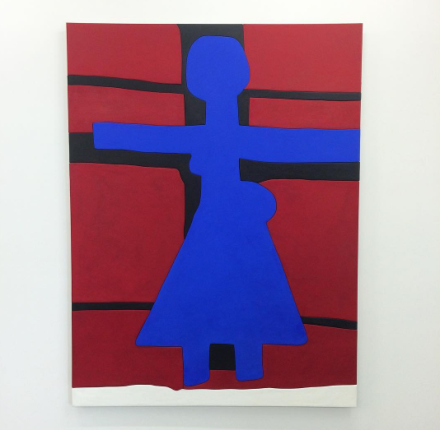 Sadie Benning, The Crucifixion (2015), via Art Observed