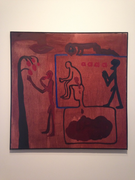 A.R. Penck, Untitled (1966)