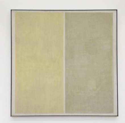 Agnes Martin, Heather (1958), via Art Observed
