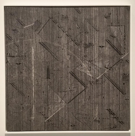 Jack Whitten, Epsilon Series I (1976), via Art Observed