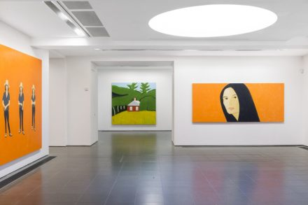 Alex Katz, Quick Light (Installation View)