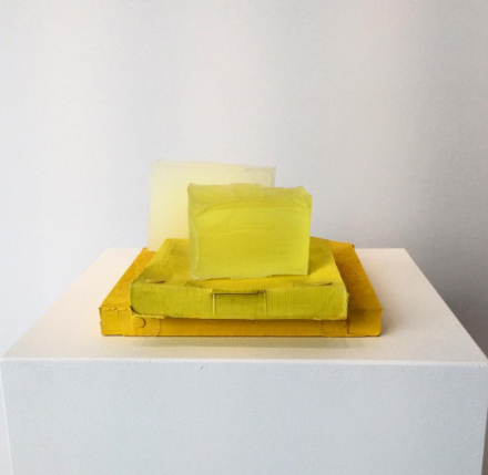 Rachel Whiteread, Yellow Edge (2007-2008), via Art Observed