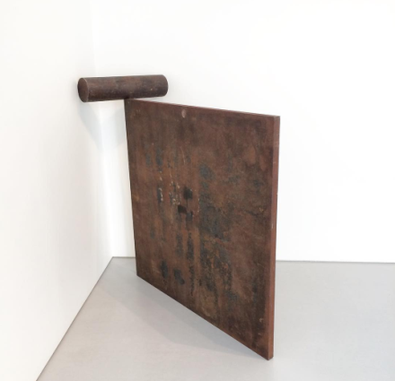 Richard Serra, Malmo Roll (1984), via Art Observed