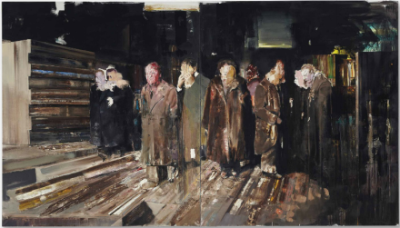 Adrian Ghenie, Nickelodeon (2008), via Christie's
