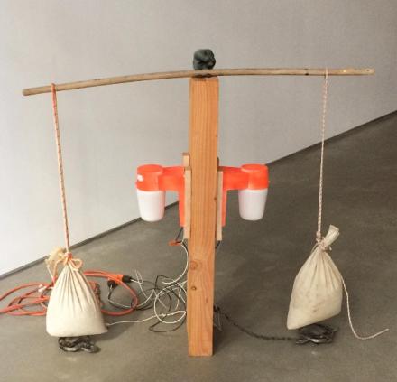 Catharine Czudej, Trap 1 (2016), via Art Observed