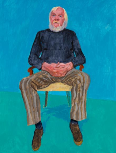 David Hockney, John Baldessari, 13th, 16th December (2013)
