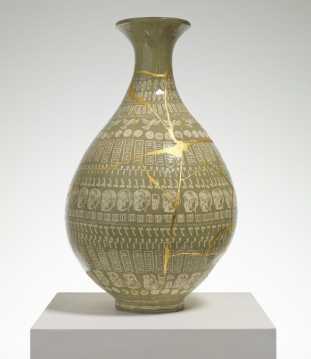 Grayson Perry, The Huhne Vase (2014), via Victoria Miro