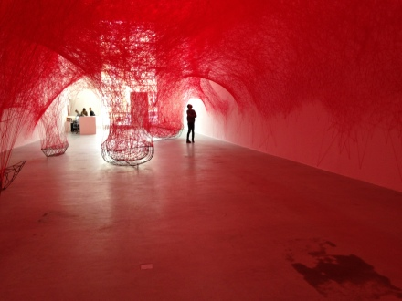 Chiharu Shiota's Uncertain Journey (Installation View)