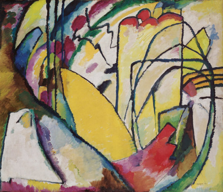 Wassily Kandinsky, Improvisation 10 (1910), via Fondation Beyeler