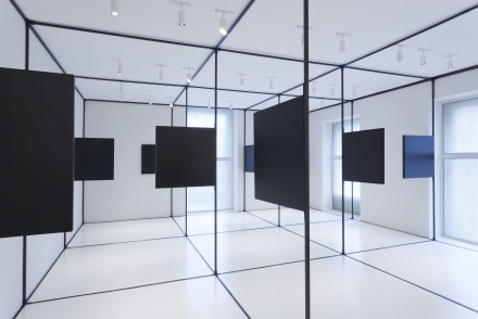 Karin Schneider, Situational Diagram (Installation view), via Dominique Lévy