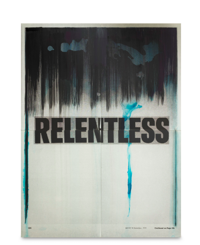 Lorna SImpson, Relentless (2016), via Salon 94