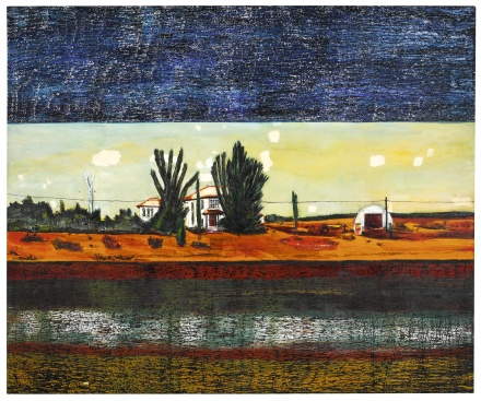 Peter Doig, Grasshopper (1990), via Sothebys
