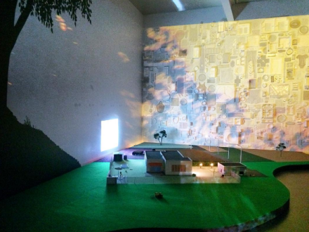 Pipilotti Rist, Pixel Forest (Installation View), via Art Observed