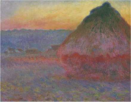 Claude Monet, Meule (1891), final price: $81,447,500, via Christie's