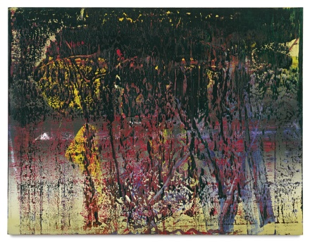 Gerhard Richter, A B St. James (1988), final price: $22,737,500, via Christie's