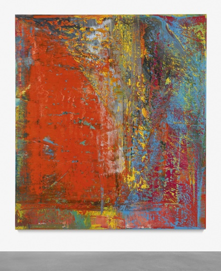 Gerhard Richter, A.B. Still (1986), final price $33,987,500, via Christie's