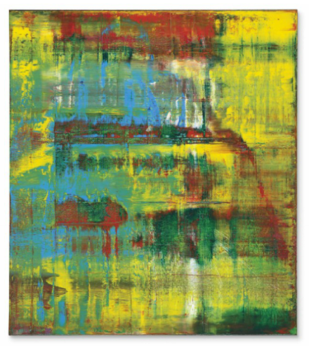 Gerhard Richter, Abstraktes Bild (809-2) (1994), via Christie's